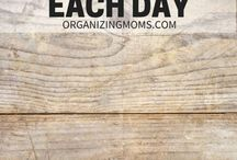Organizing your home / A realistic approach to household organizing from www.realmomlife.com