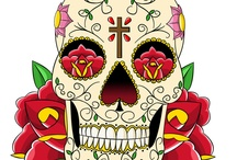<3 SugarSkulls &more+ / My husband and I LOVE Sugar Skulls and anything to do with... El Dia de Los Muertos...I also LOVE Mexico...so why not make a board of it:)  / by Monica Belardo-McDonald