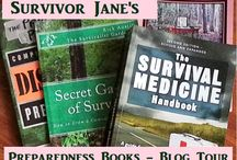 Preparedness Books Blog Tour / See Reviews of all the Latest Preparedness Books