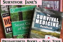 Preparedness Books Blog Tour / See Reviews of all the Latest Preparedness Books / by Survivor Jane™