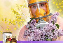 Fastidi di Primavera - rimedi naturali / Integratori naturali Dr. Giorgini. Contenenti erbe e nutritivi utili per rafforzare le difese immunitarie, favorire il benessere di naso e gola e contrastare i fastidi tipici della Primavera.