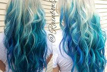 Cool hair ombre