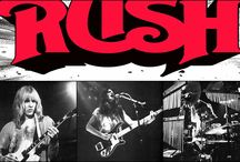 Fly By Night ≧✯◡✯≦ / The Rock Band Rush / by Theresa Hawes