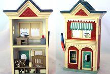 nostalgic houses ornaments / by KayMary Cassidy