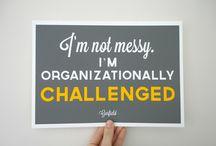 Clean as a bean. / Organizational ideas.