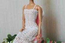 barbie horgolt ruhák