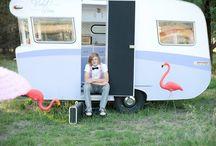 Vintage Caravan / Violet Rose. 1963 Wayfarer caravan.