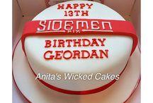 Sidemen cake