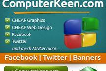 Banners - www.computerkeen.com / Banners - www.computerkeen.com - Web Banners