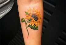 Tattoos / Sunflower
