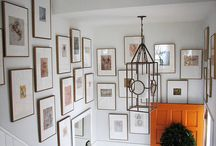 Gallery Wall Inspiration / by Kris @ Driven by Decor