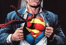 heróis e o Superman