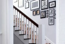 stairs wall ideas