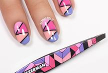 Aztec Rainbow / We are loving the aztec trend! These bold multicolored prints are inspired by graphic tribal trends and global design fusions popping up on all the runways. Our Mini Slants feature the same famous precision as the award winning full size Slant Tweezers, with perfectly aligned, hand filed precision tips for expert brow shaping.  / by Tweezerman