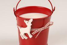 Noël / Décorations #Bougies #Noël #Candle #Christmas