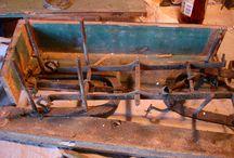 restauro di una bilancia beranger inferiore fine '800