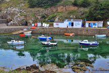Le Port de la Meule à L'île d'Yeu / Le Port de la Meule à L'île d'Yeu en Vendée #iledyeu #vendée