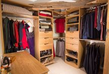 Walk-in wardrobe / It's not just for Hollywood - you home could have one too and we will make use of every inch of space.