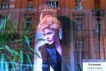 Varázslatos kirakatok & Magic windows / Reklámvitrinek Budapest belvárosában
