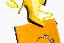 Yellow Fashion Flatlay