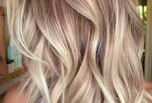 coloring ideas blond