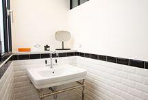 Salle de bains jaunets