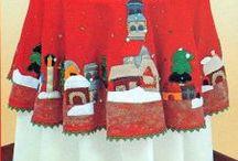 muñecos navideños en lency