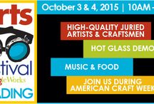 arts festival Reading 2015 / Join us at the fourth annual arts festival READING in the Goggleworks Center for the Arts in Reading PA on October 3rd and 4th 2015-10:00 am to 5:00 pm. Check out these fine juried artists and craftsmen who come to demonstrate and sell. A dynamic event in a wonderfully restored old building!