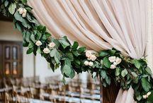 Wedding rose decor