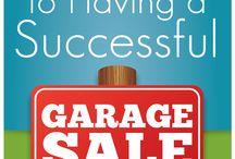 Garage Sale Tips & Ideas
