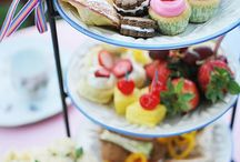 Let's have a tea party! / Where there is cupcakes and tea, happiness is bound to be found <3