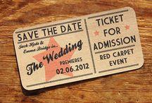 Cinema theme wedding