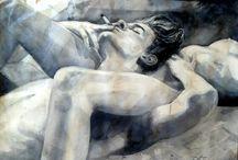 Sexarte / Pinturas, ilustraciones, imágenes sensuales