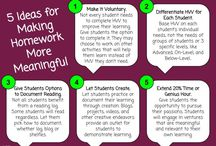 Homework Strategies / Pins of TeacherIdeas related to Homework Strategies.  Ways to improved the effectiveness of homework and homework efforts.  Not suggestions or examples of homework or classroom management of homework assignments.