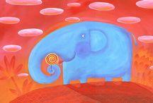 слон / by Marina