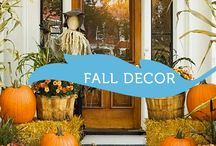 Fall Decor / Decorations for Fall, including Thanksgiving!