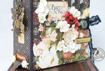 ALBUMS G45 BIRDSONG layouts cards etc