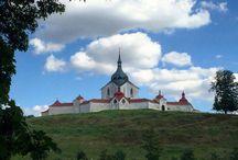 sv.Jan Nepomucký / sochy, obrazy, kostely,kaple tohoto světce