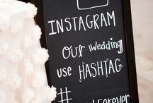 Wedding**black board