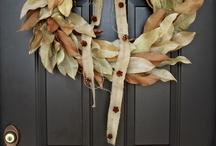 Corn husk / Fall wreath