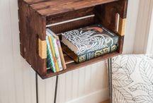DIY-Stauraum für Bücher / Wenn unsere Bücher ein neues Zuhause brauchen - warum nicht selbst anpacken? Ob mit Paletten, Treibholz oder anderen Materialien, wir finden schon einen Weg, tolle neue Bücher-Regale und Aufbewahrungsmöglichkeiten zu bauen! #DIY #book_storage