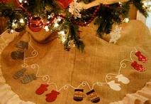 Karácsonyfa szoknya