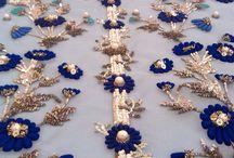 Embroidery zari pearl