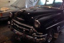 Used 1953 Chevrolet Bel Air for Sale ($22,800) at  Ozark , MO / Make:  Chevrolet, Model:  Bel Air, Year:  1953, Body Style:  Car, Exterior Color: Black, Interior Color: Gray, Doors: Four Door,  Vehicle Condition: Excellent, Mileage:46,039 mi, Fuel: Gasoline, Engine: 6 Cylinder, Transmission: Manual, Drivetrain: Rear wheel drive.  Contact:417-576-6869   Car Id (56125)
