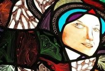 Esther Femmigje / I create and design stained glass, bowls and glass art objects