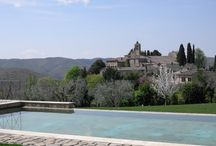 Infinity heated pool at Villa le Barone