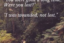 wounded, not lost