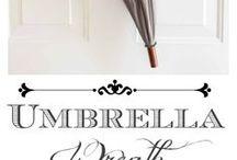 Şemsiye süsleme