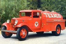 Vintage tanker trucks