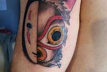 cartoon & fantasy tattoo